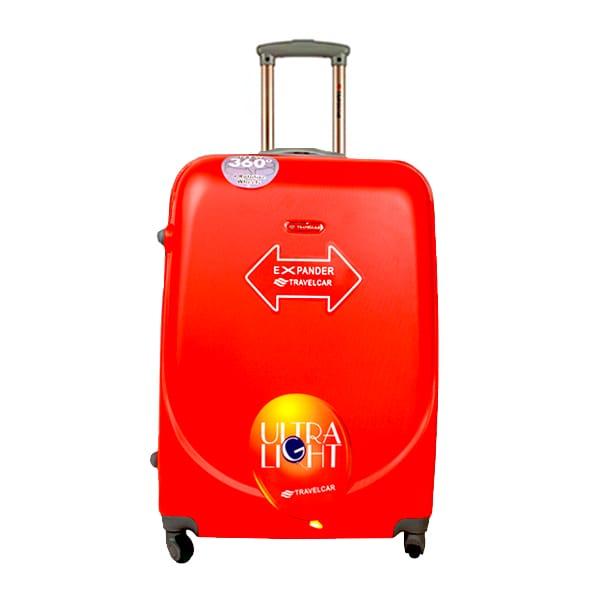 Чемодан Travelcar DS2837-L ABS пластик красный