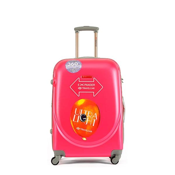Чемодан Travelcar DS2837-M ABS пластик розовый