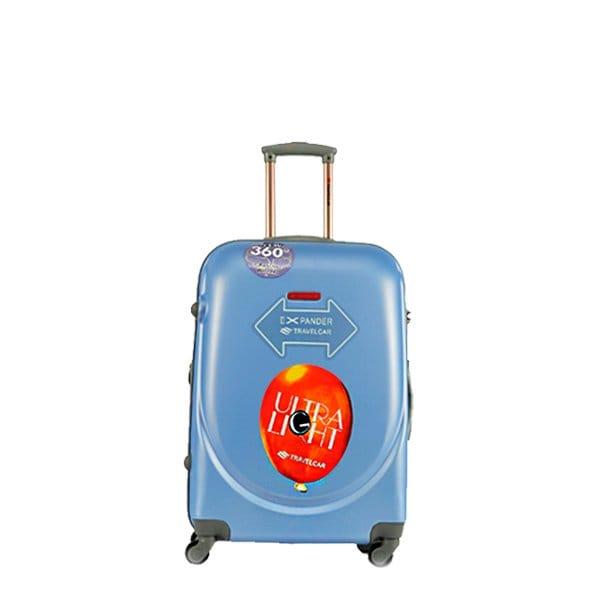 Чемодан Travelcar DS2837-S ABS пластик голубой