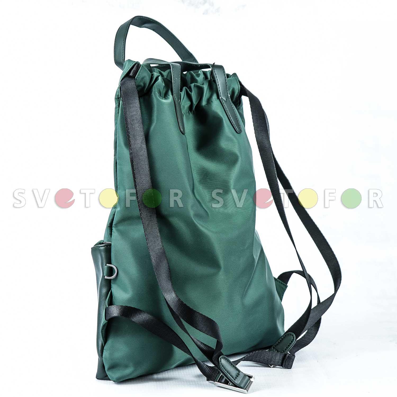 Сумка рюкзак Fendi 8029 нейлон зеленый