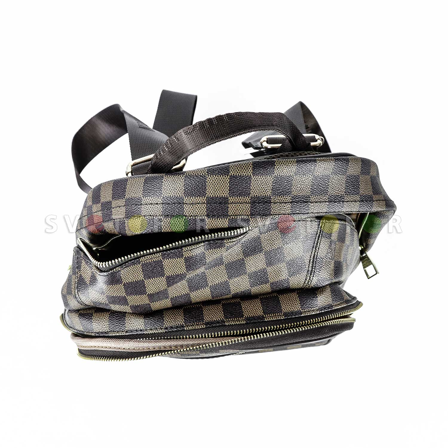 Рюкзак Louis Vuitton 8144 коричневый