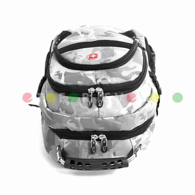 Спортивный рюкзак SwissGear 9363 полиэстер серый