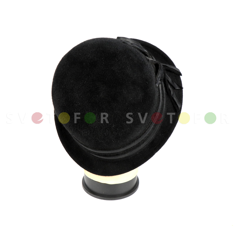 Шляпка Гримуар 2MT фетр черная