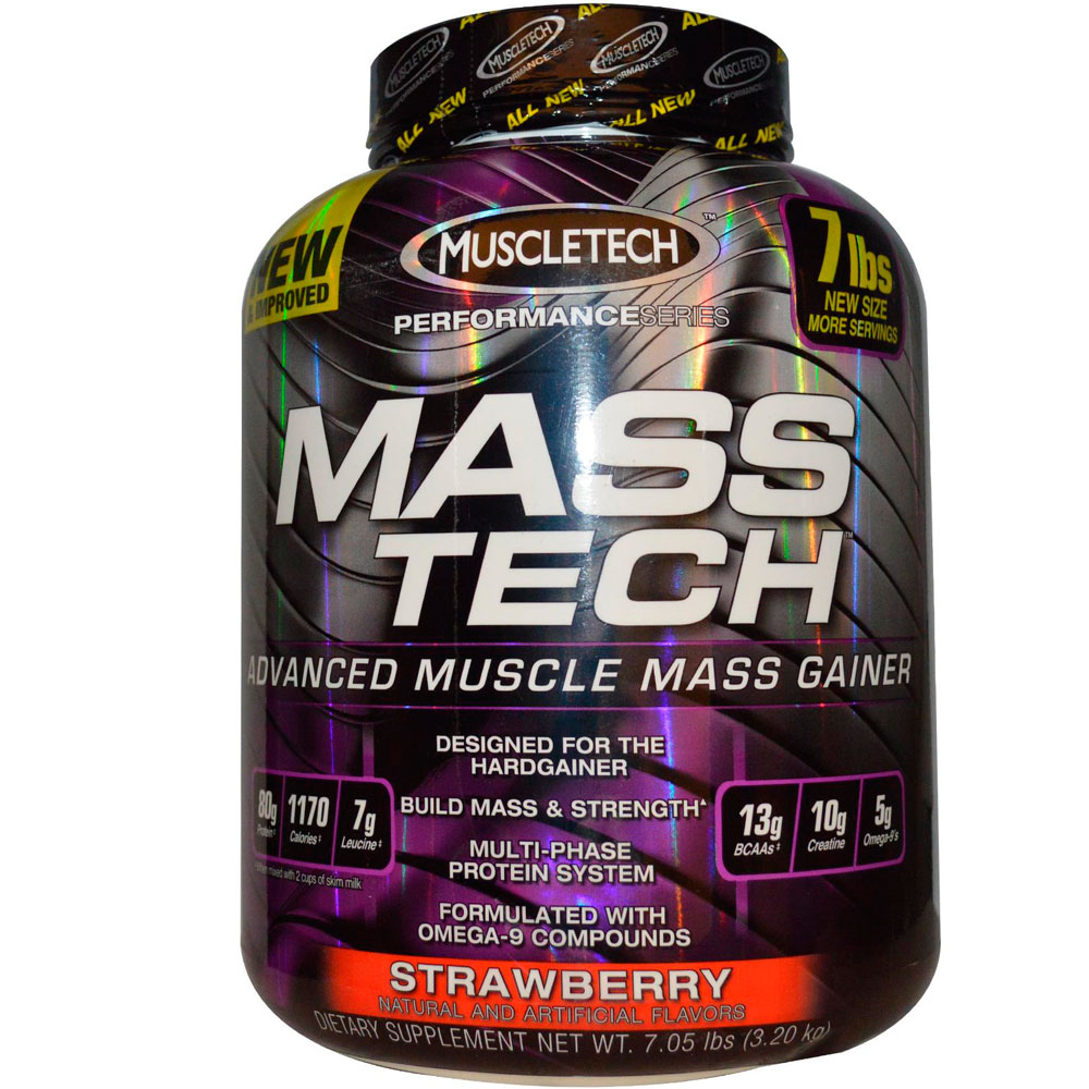 Гейнер MuscleTech Mass tech 3,2 кг
