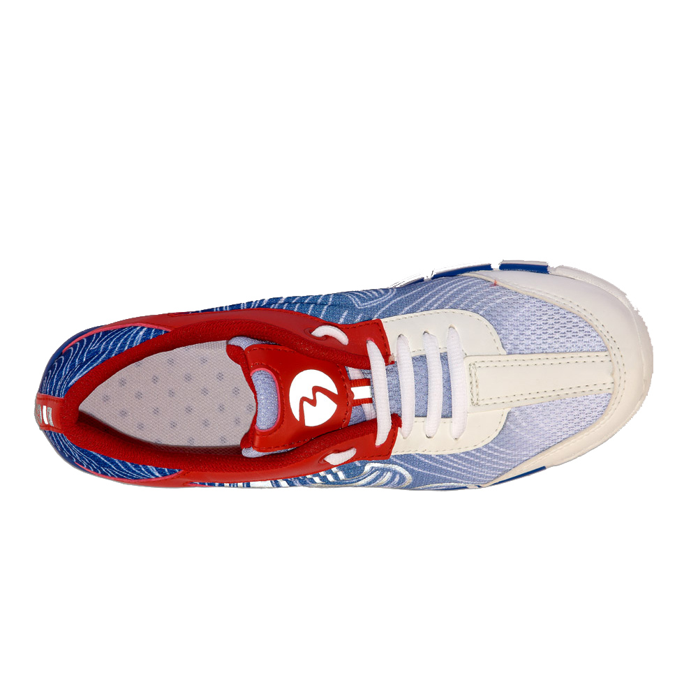 Кроссовки ПАТРИОТ М-54 RU красно-синие