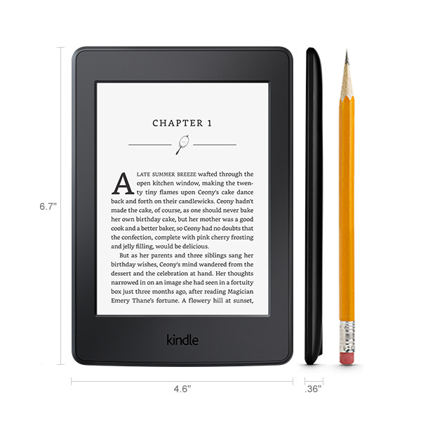 Букридер Amazon Kindle Paperwhite 6 High-Resolution Display with Built-in Light, Wi-Fi