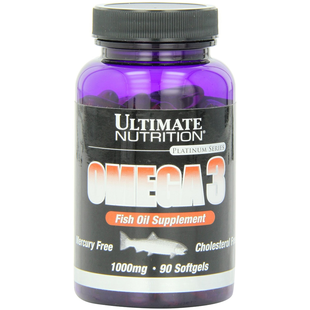 Рыбий жир Ultimate Nutrition Omega 3 (90 капсул)