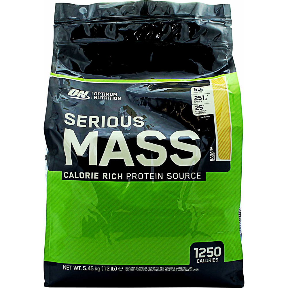 Гейнер Optimum Nutrition Serious mass 5,5 кг ванильный