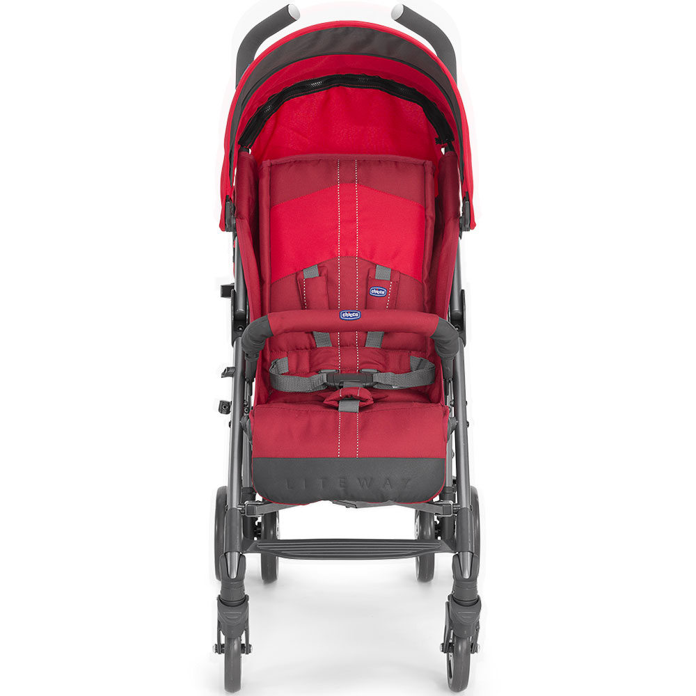 Коляска Chicco Lite Way Top Stroller BB красный