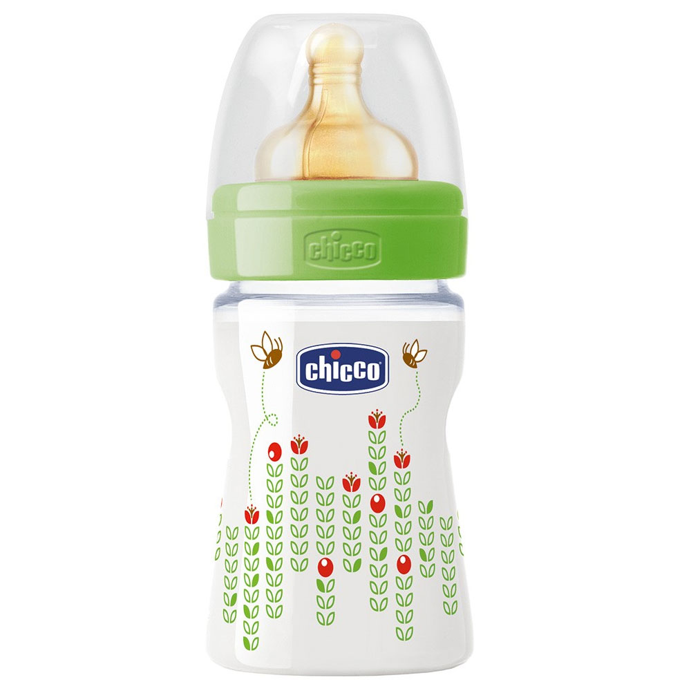 Бутылочка Chicco Wellbeing Feeding, 150мл, латекс 707500.000