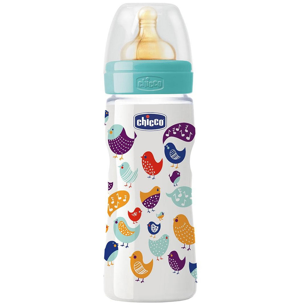 Бутылочка Chicco Wellbeing Feeding, 330 мл 707090