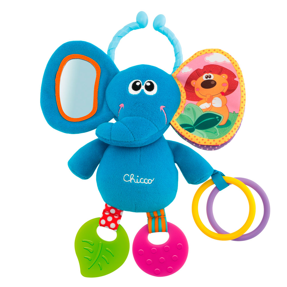 Игрушка погремушка Chicco Elephant 72375