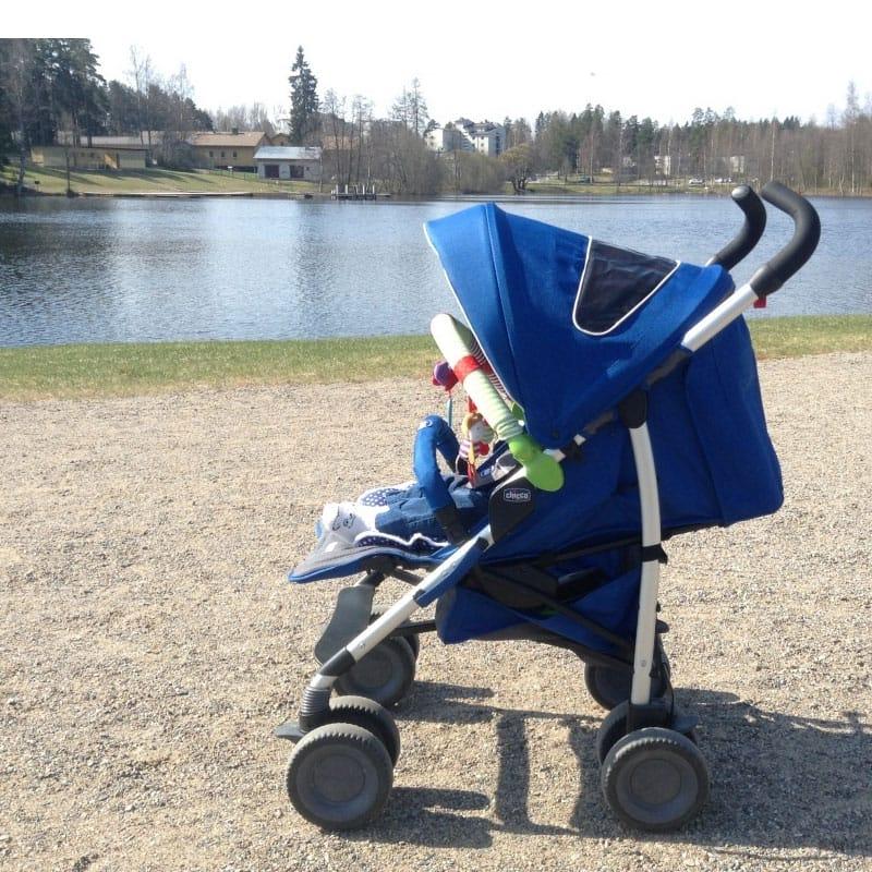 Коляска детская Chicco Multiway Evo Blue, прогулочная