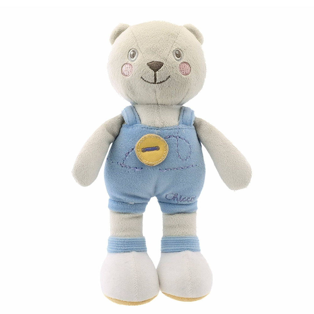 Мягкая игрушка Chicco Soft color bear blue 22912