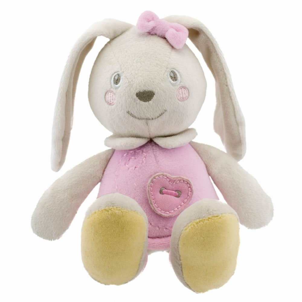 Мягкая игрушка Chicco Soft color bunny pink 22911