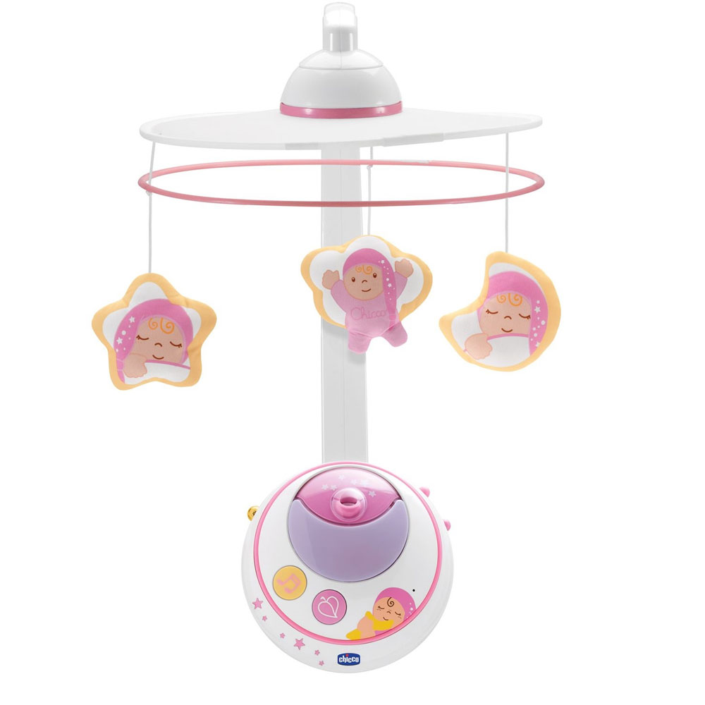 Ночник Chicco MAGIC STAR COT MOBILE PINK - 24291