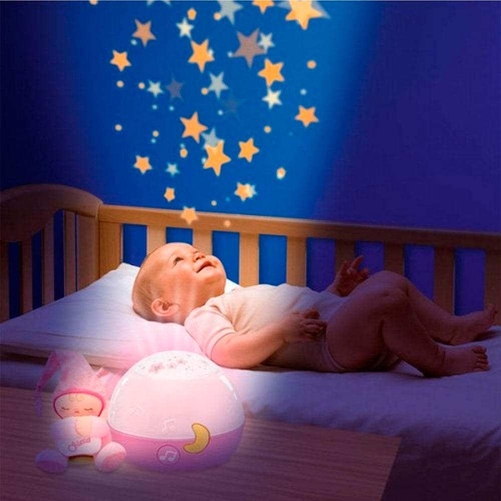Ночник проектор Chicco Good Night Star (Girl) 24271