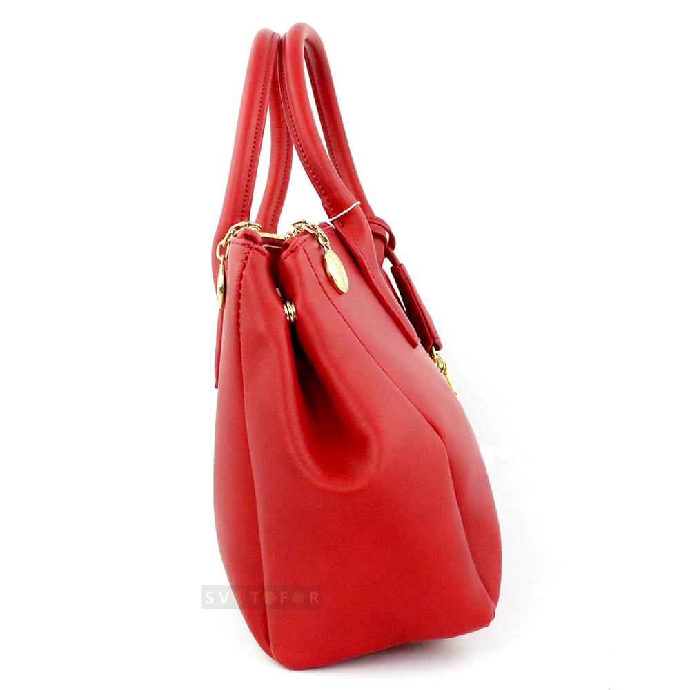 Сумка женская Dior classic из эко кожи в красном цвете