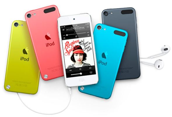 цвета ipod touch 5g