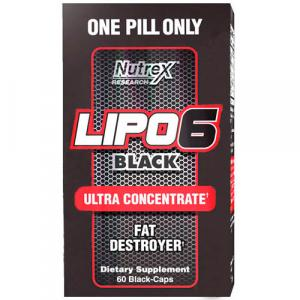 Жиросжигатель Nutrex Lipo 6 Black Ultra Concentrate 60 капсул