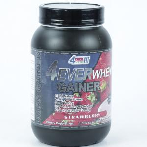 Гейнер 4EVER WHEY GAINER (4EVER FIT) клубника
