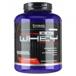 Протеин Ultimate Nutrition Prostar 100% Whey 80 serv клубничный