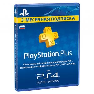 Карта оплаты playstation plus 90 дней for Russian store