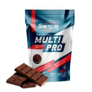Многокомпонентный протеин Geneticlab Multi Pro шоколад 1000
