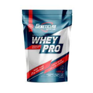 Сывороточный протеин Geneticlab Whey Pro нейтральный 1000