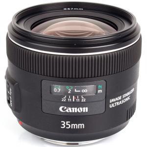 Объектив Canon EF 35mm f/2 IS USM
