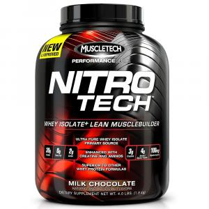 Протеин MuscleTech - Nitro-Tech Performance Series молочный шоколад