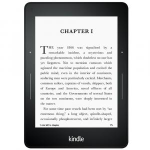 Букридер Amazon Kindle Voyage High-Resolution Display with Adaptive Built-in Light, PagePress Sensors, Free 3G + Wi-Fi
