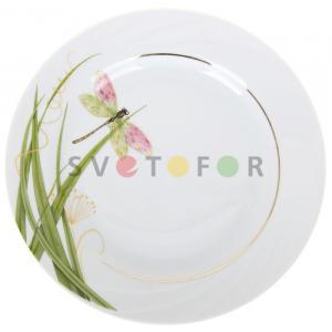 Беларусь фарфор тарелка 175мм мелкая Стрекоза 0С0587Ф34