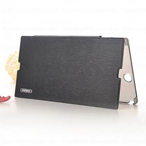 Чехол Remax Leather Cover White/Black