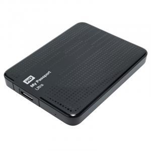 Жесткий диск WD Passport Ultra 1Tb черный