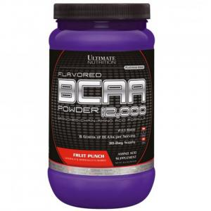 Аминокислота ultimate nutrition flavored bcaa powder 12000 фруктовый пунш