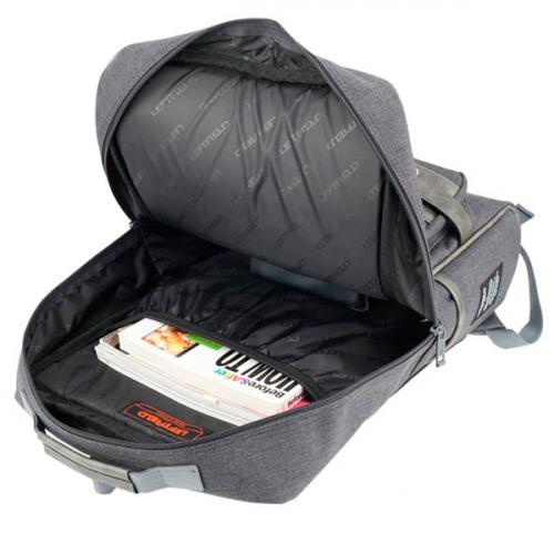 Рюкзак Leftfield 119 полиэстер серый