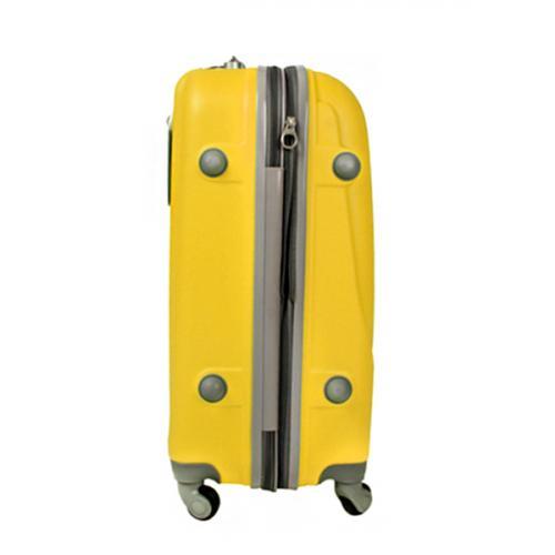 Чемодан Travelcar DS2837-L ABS пластик желтый