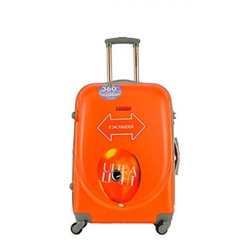 Чемодан Travelcar DS2837-M ABS пластик оранжевый