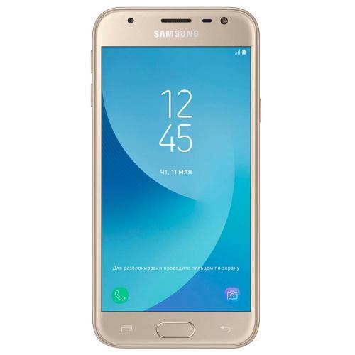 Смартфон Samsung Galaxy J3 (2017) SM-J330F 16 Gb (RAM 2 Gb) Dual Sim РСТ gold