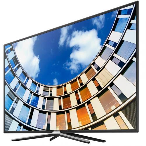 "Телевизор Samsung UE55M5500AUXCE серый Full HD Smart DVB-T2 55"""