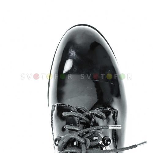 Ботинки Fashion Party 8257 M9235 лакированные черные