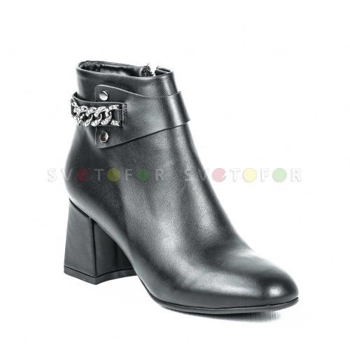 Полусапожки Fashion Party 8336 E61 черные