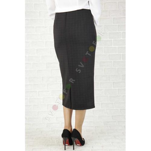 Женская юбка JAN 43852 черная миди