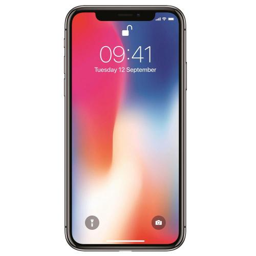 Смартфон Apple iPhone X 64 Gb (RAM 3 Gb) silver