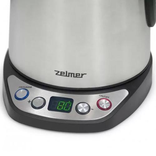 Чайник электрический Zelmer CK1004 серебристый