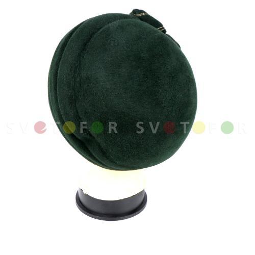 Шляпка Ариал 527 пух кролика зеленая