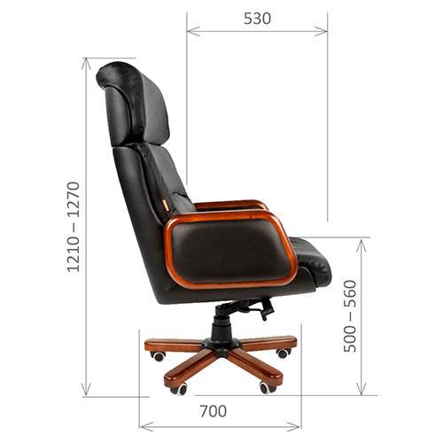 Кресло Chairman 417 кожанное