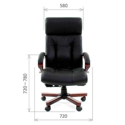 Кресло Chairman 421 кожанное