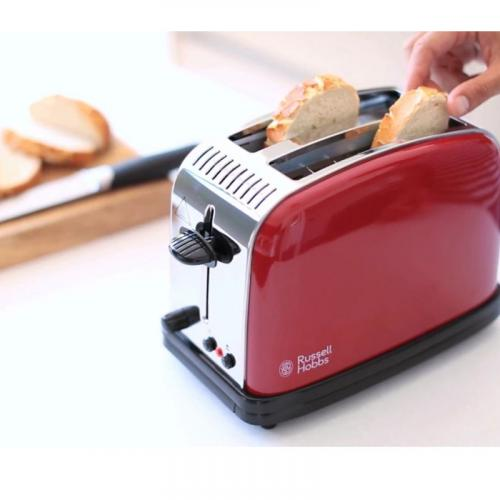 Тостер Russell Hobbs 23330-56 Colours Plus Flame Red